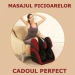 Aparat de masaj picioare C30-rosu