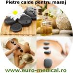 Set pietre masaj gri inchis 64