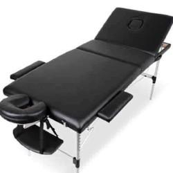 Masa masaj 3 sectiuni aluminiu