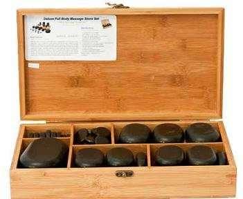 Set pietre vulcanice-50 buc