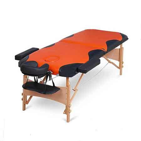 Masa masaj 2-sectiuni lemn