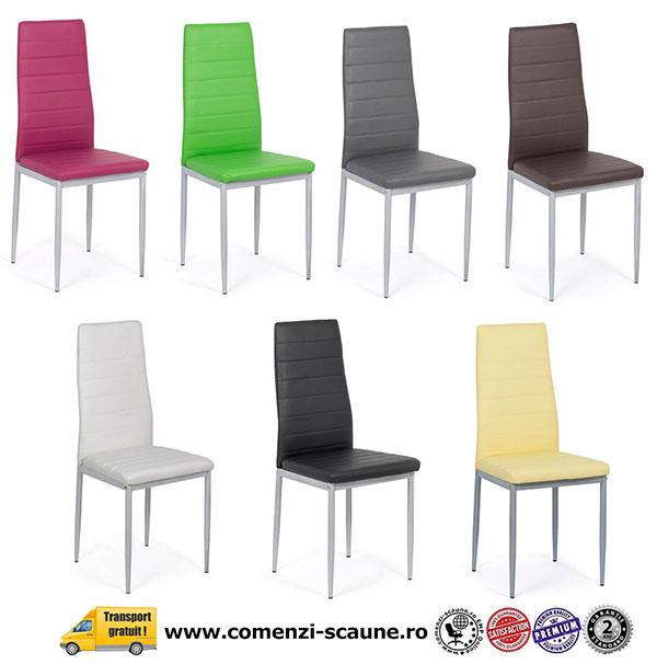 scaune de bucătărie în diverse culori
