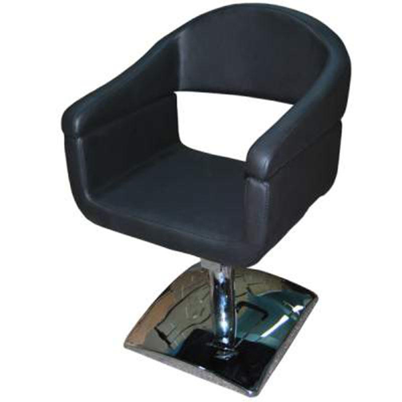 Scaun de coafor cu pompa hidraulica-Manu negru