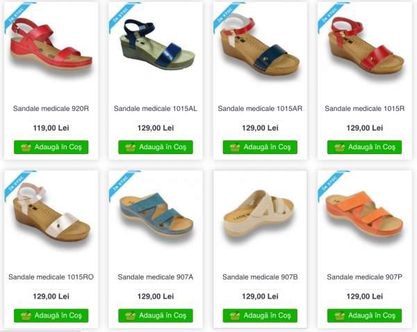 Sandale-medicale-ortopedice-comode